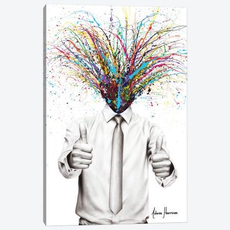 Stay Calm Canvas Print #VIN555} by Ashvin Harrison Canvas Art