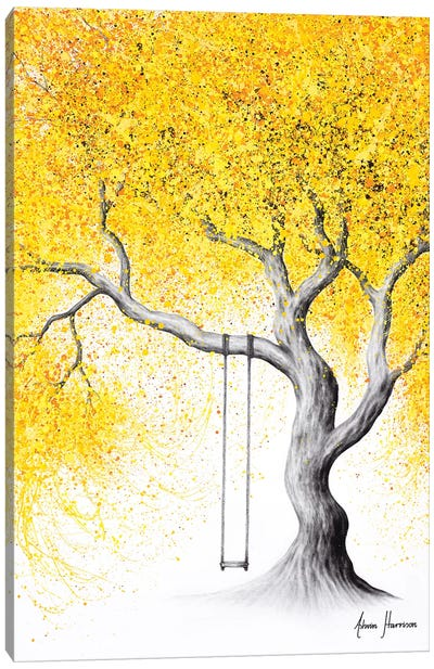 A Soft Autumn Canvas Art Print