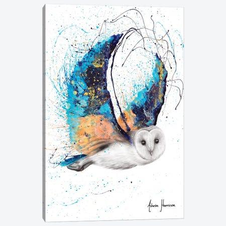 Majestic Moonlight Owl Canvas Print #VIN559} by Ashvin Harrison Art Print