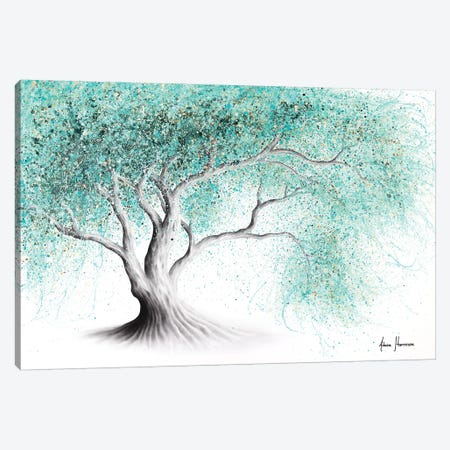 Mint Dream Tree Canvas Print #VIN560} by Ashvin Harrison Canvas Wall Art