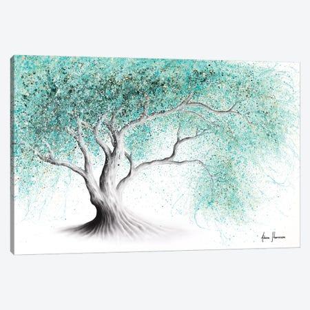 Mint Dream Tree Canvas Print #VIN560} by Ashvin Harrison Canvas Wall Art