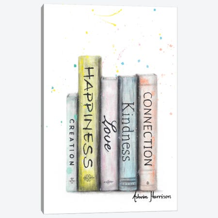 Books Of Significance Canvas Print #VIN562} by Ashvin Harrison Canvas Wall Art
