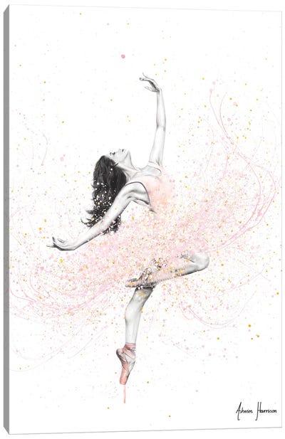 Spring Rose Dance Canvas Art Print