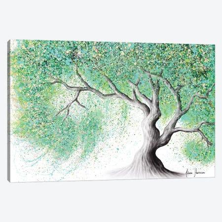 Jade Blossom Tree Canvas Print #VIN565} by Ashvin Harrison Art Print