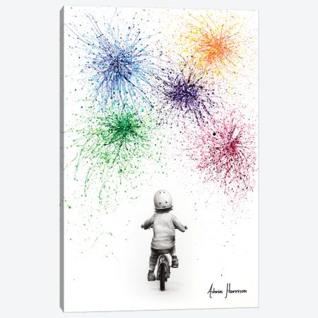 A Brighter Future Canvas Print #VIN570} by Ashvin Harrison Art Print