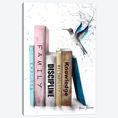 The Six Books Of Love Canvas Print #VIN572} by Ashvin Harrison Canvas Print