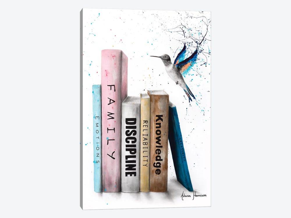 The Six Books Of Love by Ashvin Harrison 1-piece Art Print
