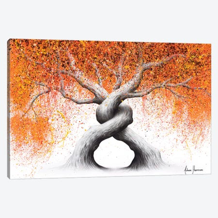 Twisting Love Trees Canvas Print #VIN574} by Ashvin Harrison Canvas Art