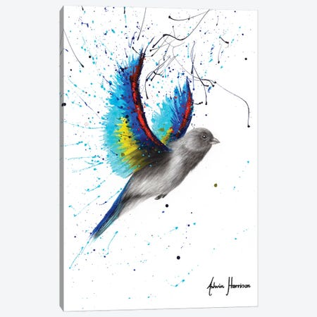 Sunset Beach Bird 3-Piece Canvas #VIN575} by Ashvin Harrison Canvas Wall Art