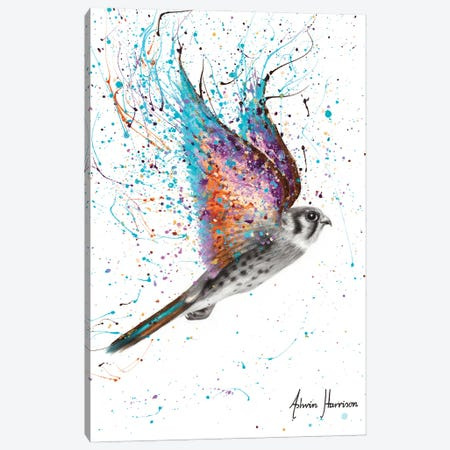 Outback Spirit Bird 3-Piece Canvas #VIN576} by Ashvin Harrison Canvas Artwork