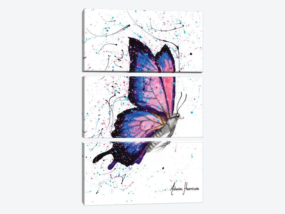 Seductive Star Butterfly by Ashvin Harrison 3-piece Canvas Print