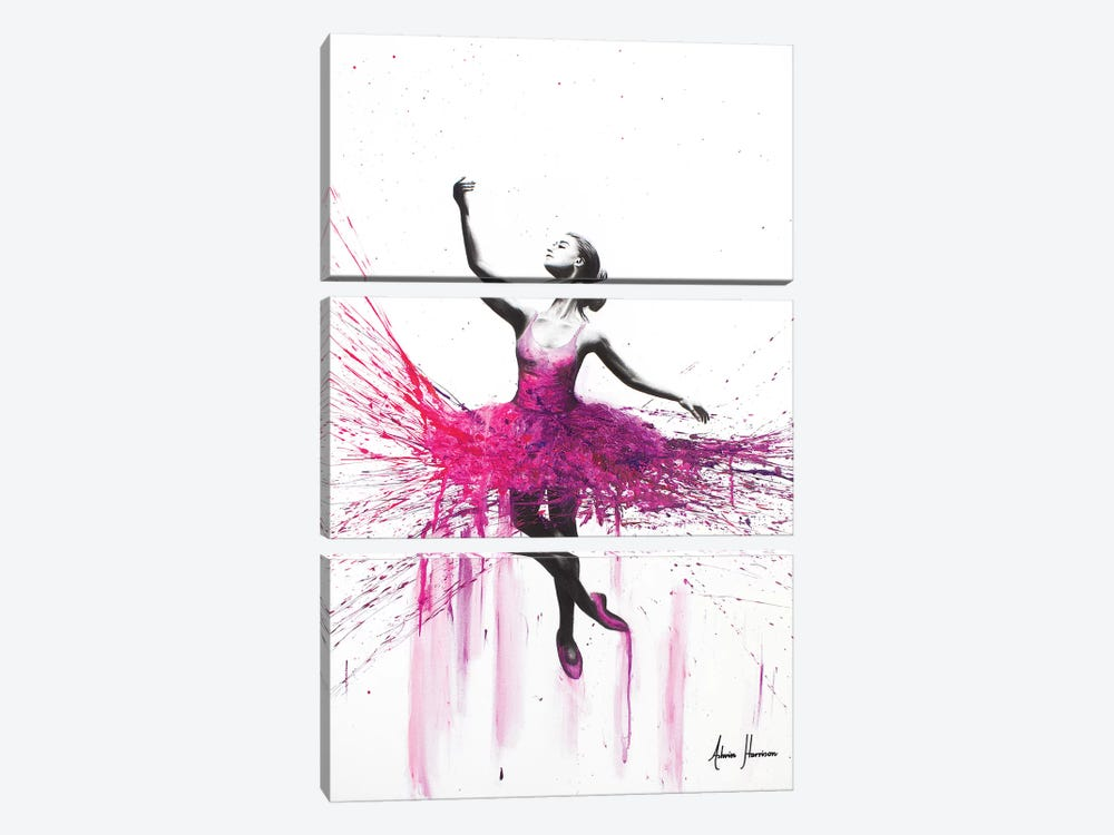 Love Will Guide Us There by Ashvin Harrison 3-piece Canvas Print