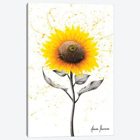 Sunflower Celebration Canvas Print #VIN582} by Ashvin Harrison Canvas Artwork