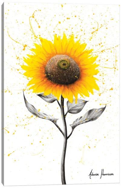 Sunflower Celebration Canvas Art Print