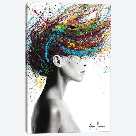 Thoughts Of Tomorrow Canvas Print #VIN583} by Ashvin Harrison Canvas Art