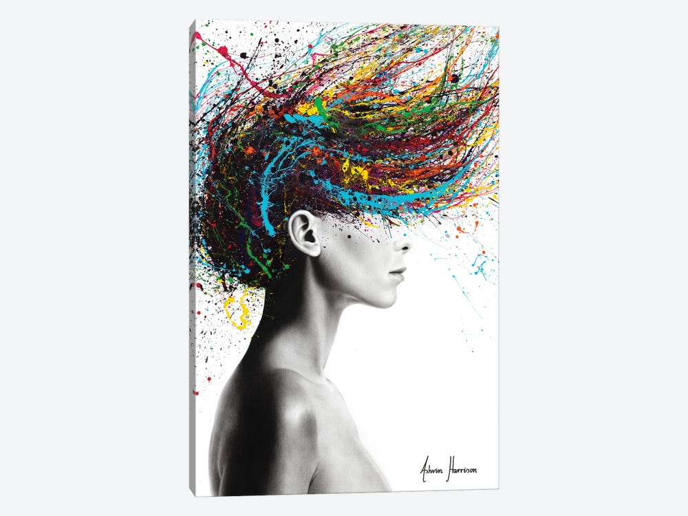 Thoughts Of Tomorrow by Ashvin Harrison 1-piece Canvas Art Print