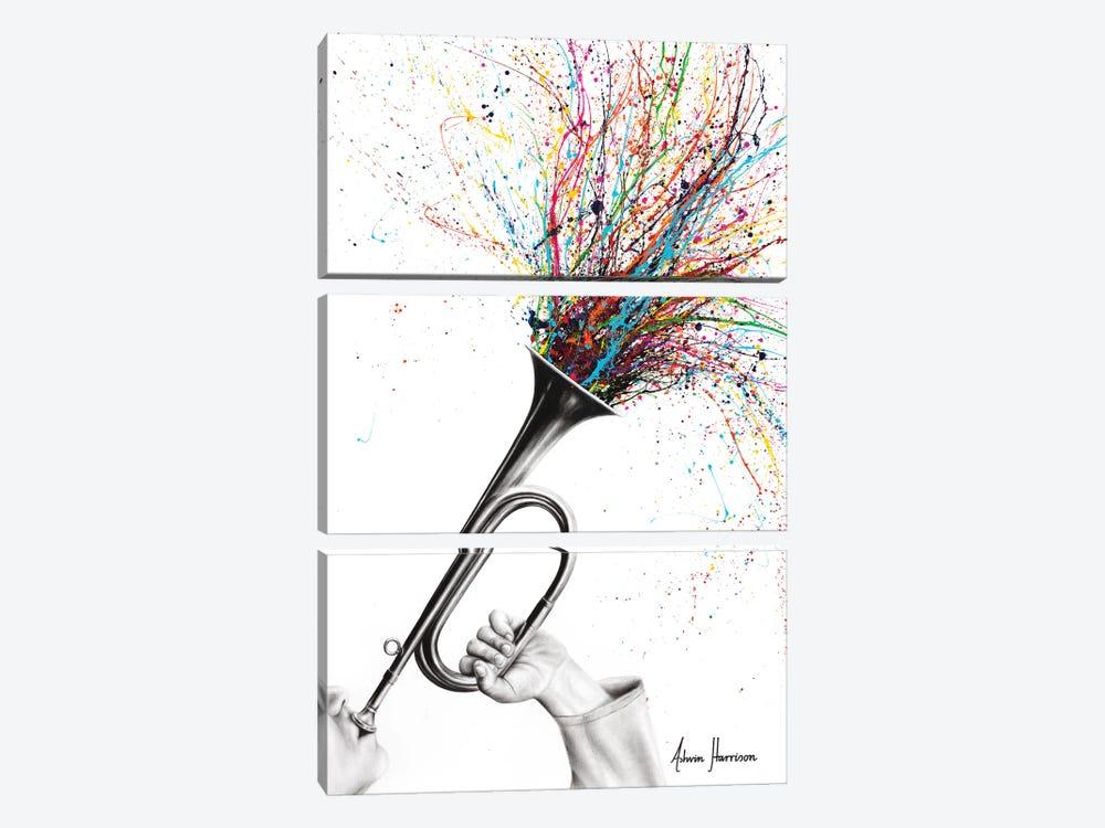 The Rising Sound by Ashvin Harrison 3-piece Canvas Art Print