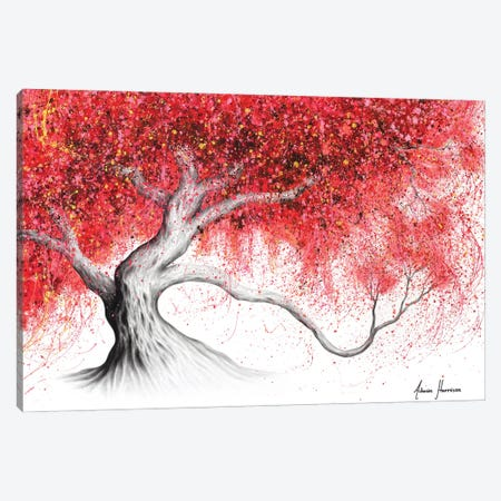 Strawberry Daze Tree Canvas Print #VIN586} by Ashvin Harrison Canvas Print