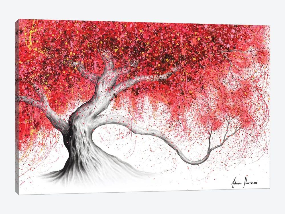 Strawberry Daze Tree by Ashvin Harrison 1-piece Canvas Art