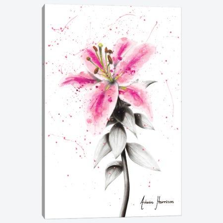 Lively Lily Canvas Print #VIN589} by Ashvin Harrison Canvas Art