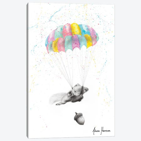 Squirrel Dreams Canvas Print #VIN590} by Ashvin Harrison Canvas Print