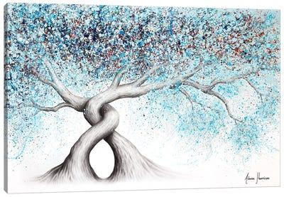 Iced Gemstone Trees Canvas Art Print