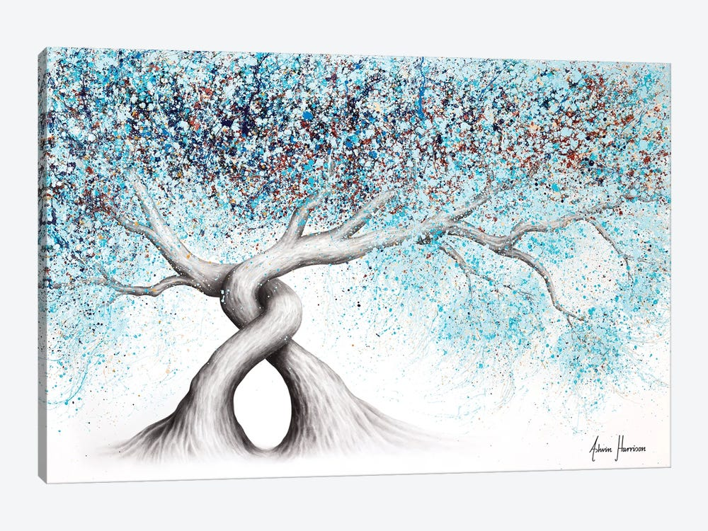 Iced Gemstone Trees by Ashvin Harrison 1-piece Canvas Artwork