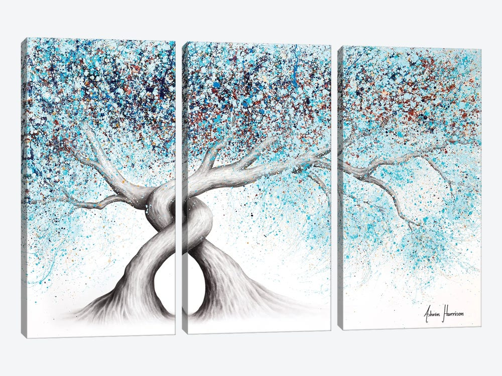 Iced Gemstone Trees by Ashvin Harrison 3-piece Canvas Art