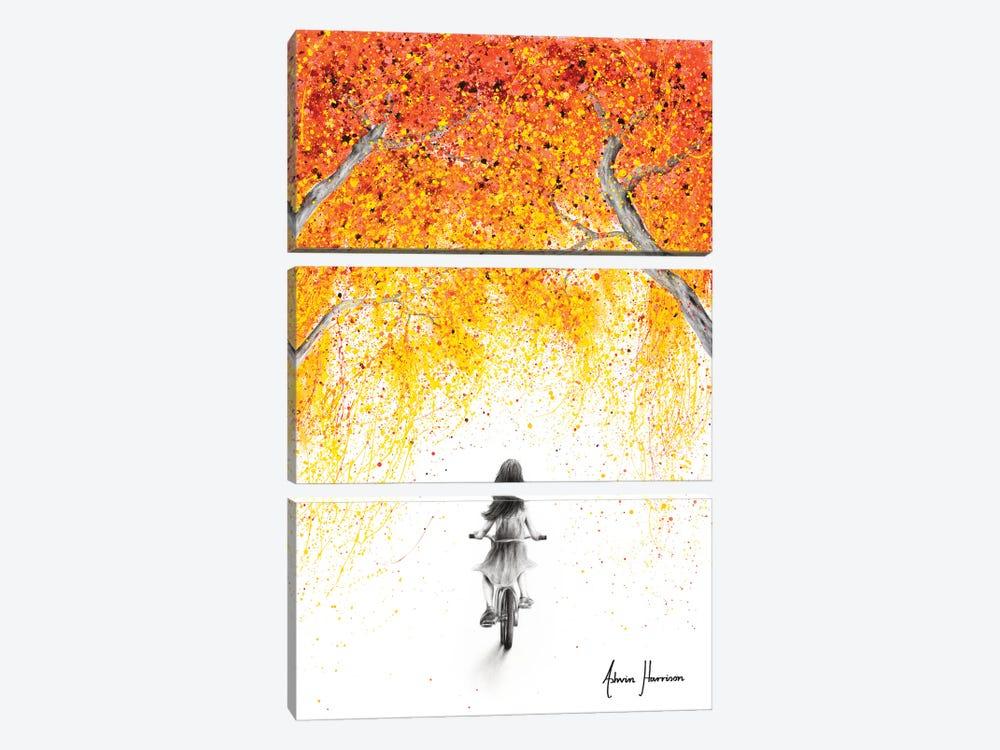 A New Autumn by Ashvin Harrison 3-piece Art Print
