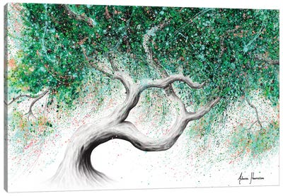 Garden Party Tree Canvas Art Print
