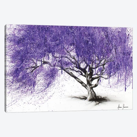Meet You At The Jacaranda Canvas Print #VIN59} by Ashvin Harrison Canvas Art