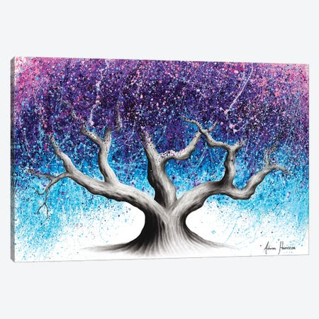 Midnight Dream Tree 3-Piece Canvas #VIN601} by Ashvin Harrison Canvas Print