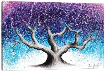 Midnight Dream Tree Canvas Art Print