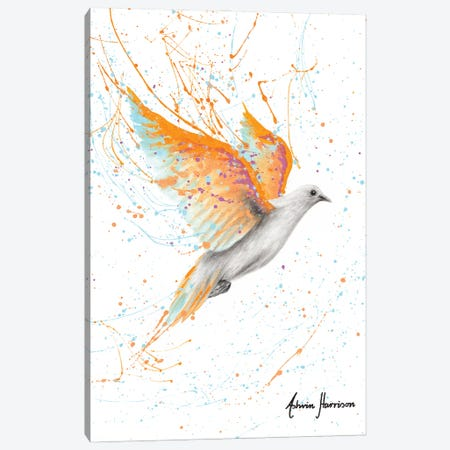Summer Peace Dove Canvas Print #VIN606} by Ashvin Harrison Canvas Wall Art