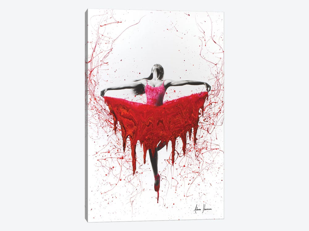 Moral Heart Dance by Ashvin Harrison 1-piece Canvas Print