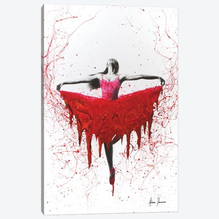 Moral Heart Dance Canvas Print #VIN60} by Ashvin Harrison Art Print