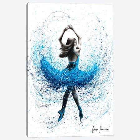 Delicate Lake Dance 3-Piece Canvas #VIN610} by Ashvin Harrison Canvas Art