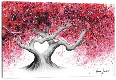 Trees Of Love Canvas Art Print