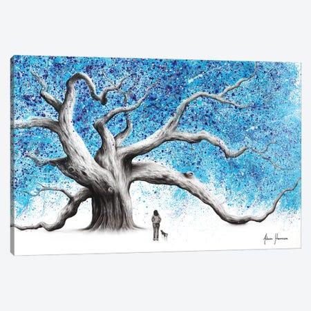 The Winter Walk Tree Canvas Print #VIN613} by Ashvin Harrison Canvas Artwork