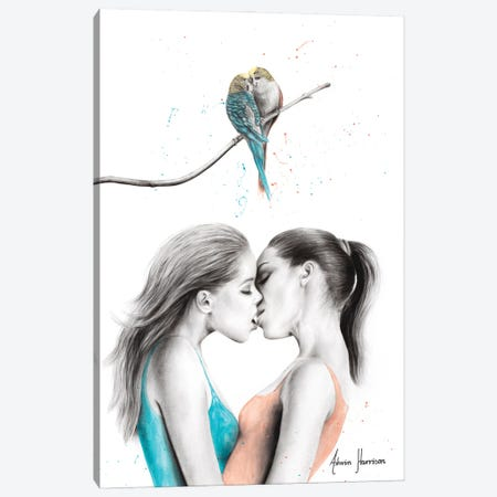 The Hearts Canvas Print #VIN617} by Ashvin Harrison Canvas Art Print