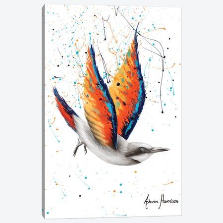 Citrus Island Bird Canvas Print #VIN618} by Ashvin Harrison Canvas Artwork