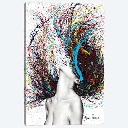 Excite Canvas Print #VIN621} by Ashvin Harrison Art Print