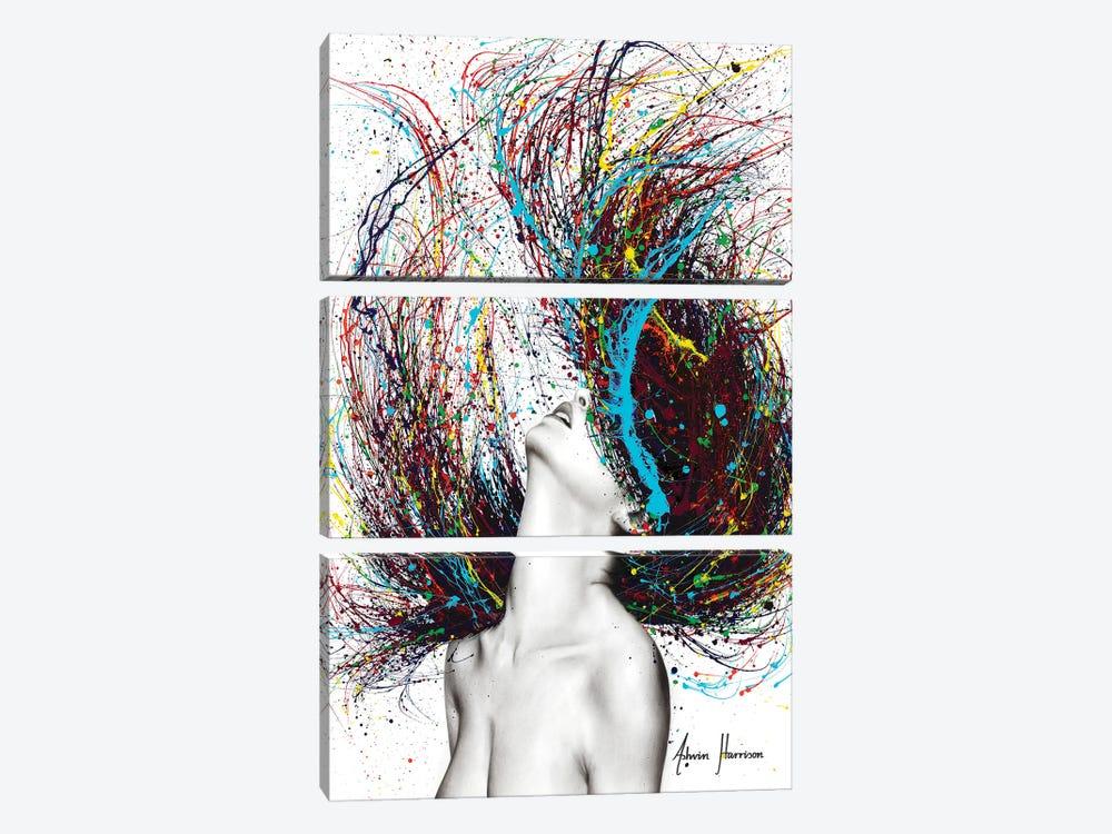 Excite by Ashvin Harrison 3-piece Canvas Art Print