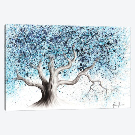 Blue Sea Tree Canvas Print #VIN622} by Ashvin Harrison Canvas Print