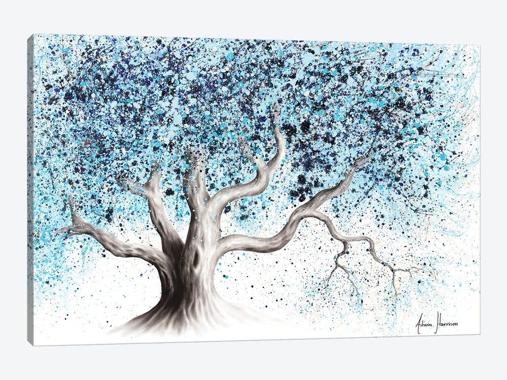 Blue Sea Tree by Ashvin Harrison 1-piece Canvas Wall Art