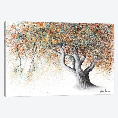 Rusty Autumn Tree Canvas Print #VIN627} by Ashvin Harrison Canvas Artwork