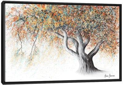 Rusty Autumn Tree Canvas Art Print