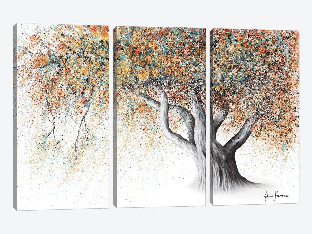 Rusty Autumn Tree by Ashvin Harrison 3-piece Canvas Print