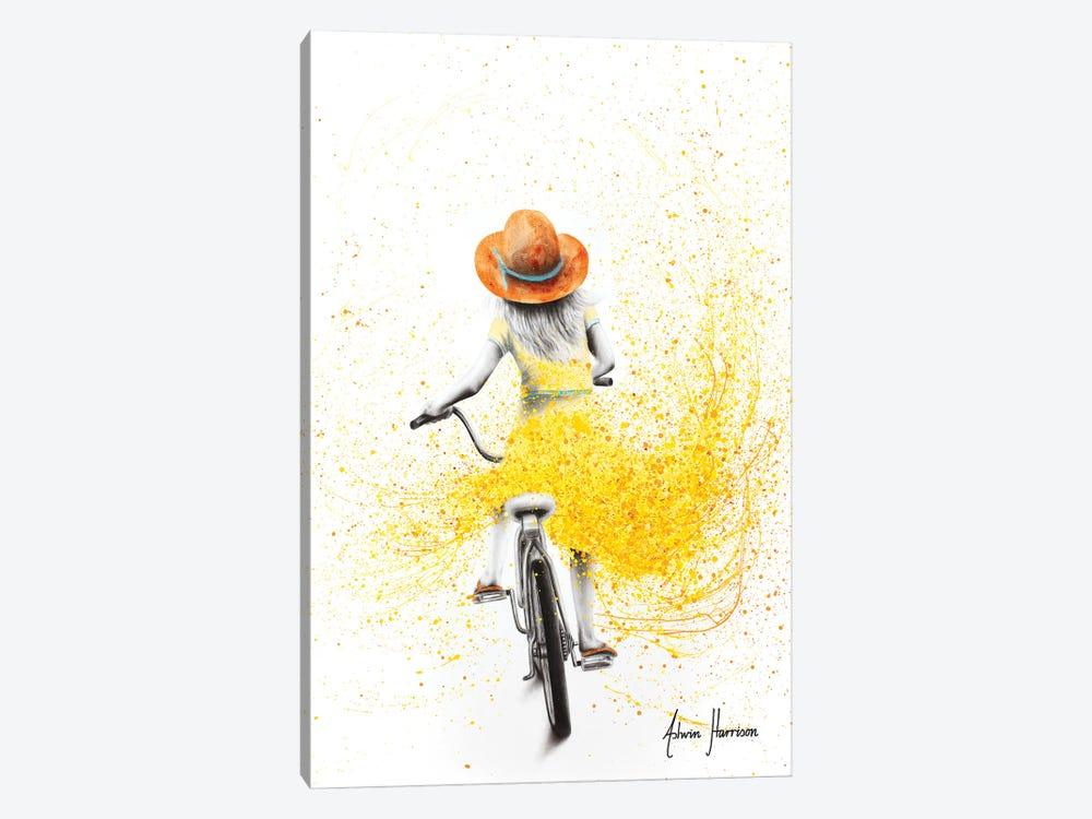 Her Sunshine Ride by Ashvin Harrison 1-piece Canvas Print