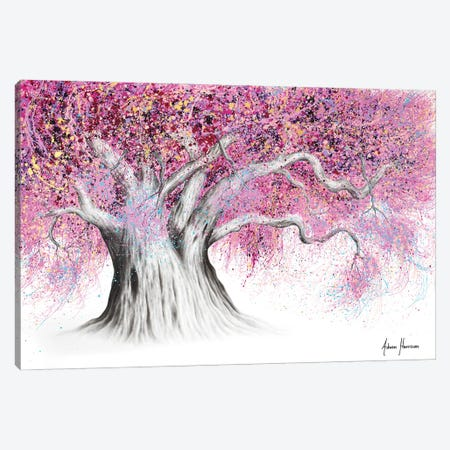 Pink Party Tree Canvas Print #VIN635} by Ashvin Harrison Canvas Art Print